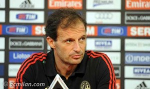 Massimiliano Allegri in conferenza Stampa