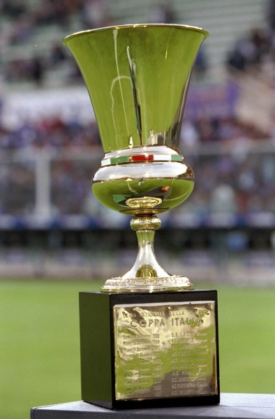 5 May 1999: The Coppa Italia Trophy is shown before the Coppa Italia Cup Final match against Fiorentina played in Fiorentina, Italy. The match finished in 2-2 draw, however Parma won the match on the away goals rule. Mandatory Credit: Allsport UK /Allsport